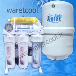 دستگاه تصفیه آب خانگی واترسیف شش مرحله ای بدون پایه